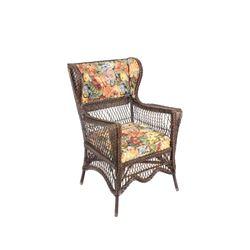 Early Heywood Wakefield NY Wicker Armchair