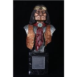 """Geronimo"" Chilmark Sculpture by S. Lockbower"