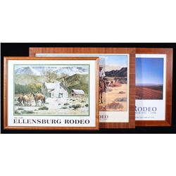 Late 20th Century Ellensburg Rodeo Poster Prints