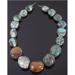 Large Polished Turquoise Necklace