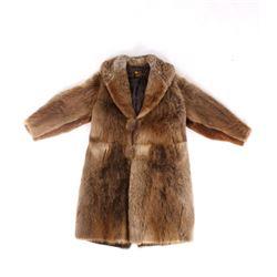 Ladies Full Length J. Eugene Trefz Fur Coat