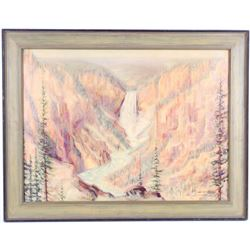Carl Tolpo Yellowstone Lower Falls Master Print