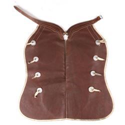 Miles City Saddlery Batwing Leather Chaps