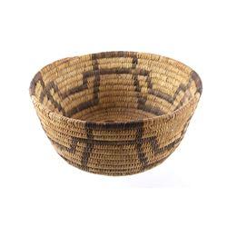 Early Papago Tohono O'odham Woven Basket c. 1900