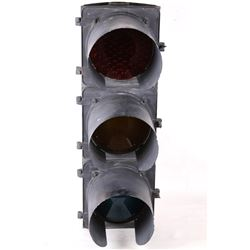 Mid to Late 20th C. Montana TCT Traffic Light