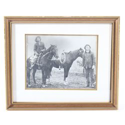 Early 1900's B&W Montana Cowboys Real Photo