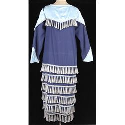 Blackfeet Tobacco Tin Jingle Women's Dress 1950's