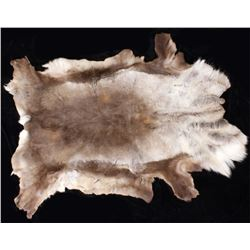 Wild Tanned Caribou Hide