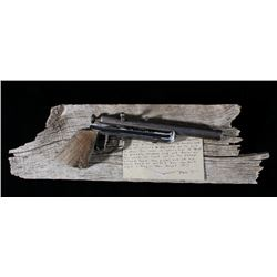 Homemade .22 Cal Pistol with Wall Mount