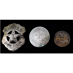 Indian & Plantation Spurious Police Badges & Coin