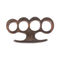 Mid 20th Century Cast Iron Brass Knuckles