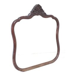 Early 20th Century Victorian Style Wooden Mirror