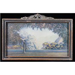 Mid 20th Century Maxfield Parrish Framed Print