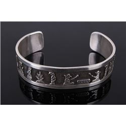 Navajo Sterling Silver Floyd Becenti Bracelet