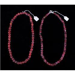 Blackfoot Indian Skunk Medicine Bead Necklaces