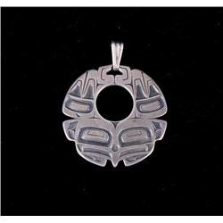 Hidatsa Native American Sterling Silver Pendant