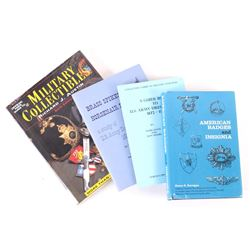 Collection of Militaria Dress & Collectibles Books
