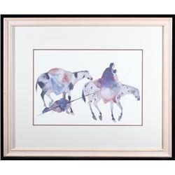 Carol Griggs Native American Watercolor Print