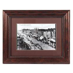 Sweet Pea Carnival on Main Street Photograph 1900s