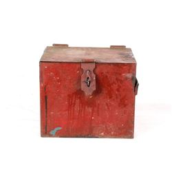 Early 1900's Steel Strong Box