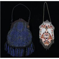 1920's-30's Meshed and Beaded Flapper Purses
