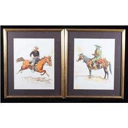 Frederic Remington Framed Prints