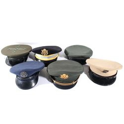 U.S. Assorted Military Enlistment & Officers Hats