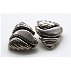 DULCE MEXICO STERLING CLIP ON EARRINGS