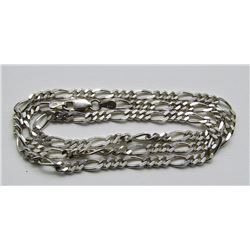 NEW MENS STERLING LINK NECKLACE