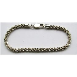 ITALY STERLING BRACELET WITH BEAUTIFUL