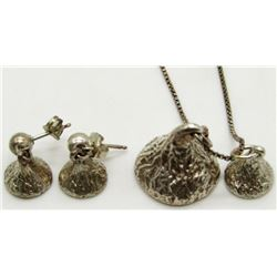 HERSHEY KISS NECKLACE & EARRING SET