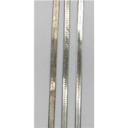 3-ANTIQUE STERLING BRACELETS DIFF DESIGNS