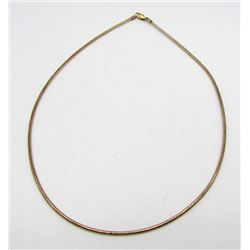 STERLING NECKLACE GOLD TONED!