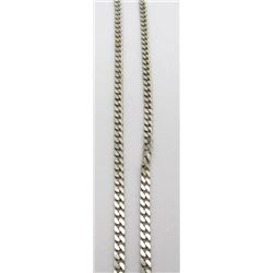 """STERLING MENS/WOMANS NECKLACE MARKED """"MR"""""""