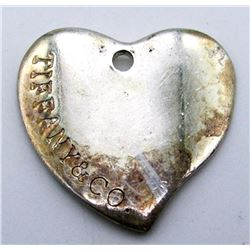 ANTIQUE TIFFANY HEART CHARM