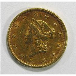 1851 $1 LIBERTY GOLD COIN