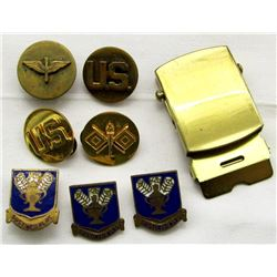 WWII AIR CORPS TECHNICAL COMMAND UNIT CRESTS
