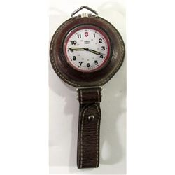 Swiss Army Pocketwatch, In Leather Boot Strap