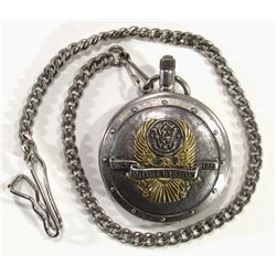Smith & Wesson Pocket Watch with Chain