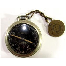 Zenith Rare Military WW2 Pocketwatch