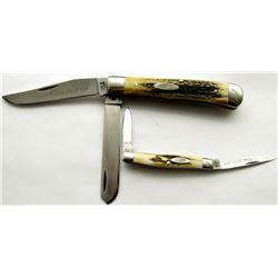 VINTAGE 1975 (4 DOT) CASE RAZOR EDGE POCKET KNIVES