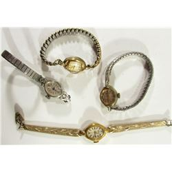 4-Vintage Ladies Wrist Watches
