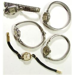 5-Vintage Ladies Wrist Watches