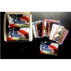 ENDURING FREEDOM WAX BOX 2001 TOPPS