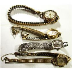 4-Vintage Ladies Wrist Watches