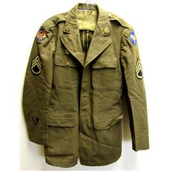 WWII SSG 8TH US ARMY AIRFORCE DRESS COAT