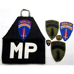 POST WWII MILITARY POLICE ARM BAND - BERLIN