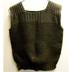 WWII US ARMY COLD WEATHER KNIT SWEATER VEST