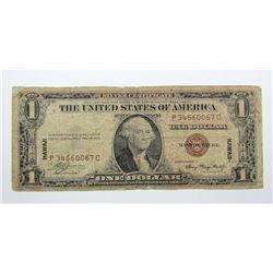 """1935A $1 """"HAWAII"""" SILVER CERT"""