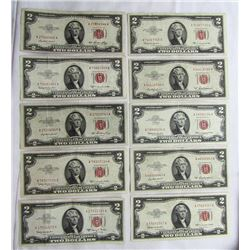 10-$2 RED SEAL NOTES
